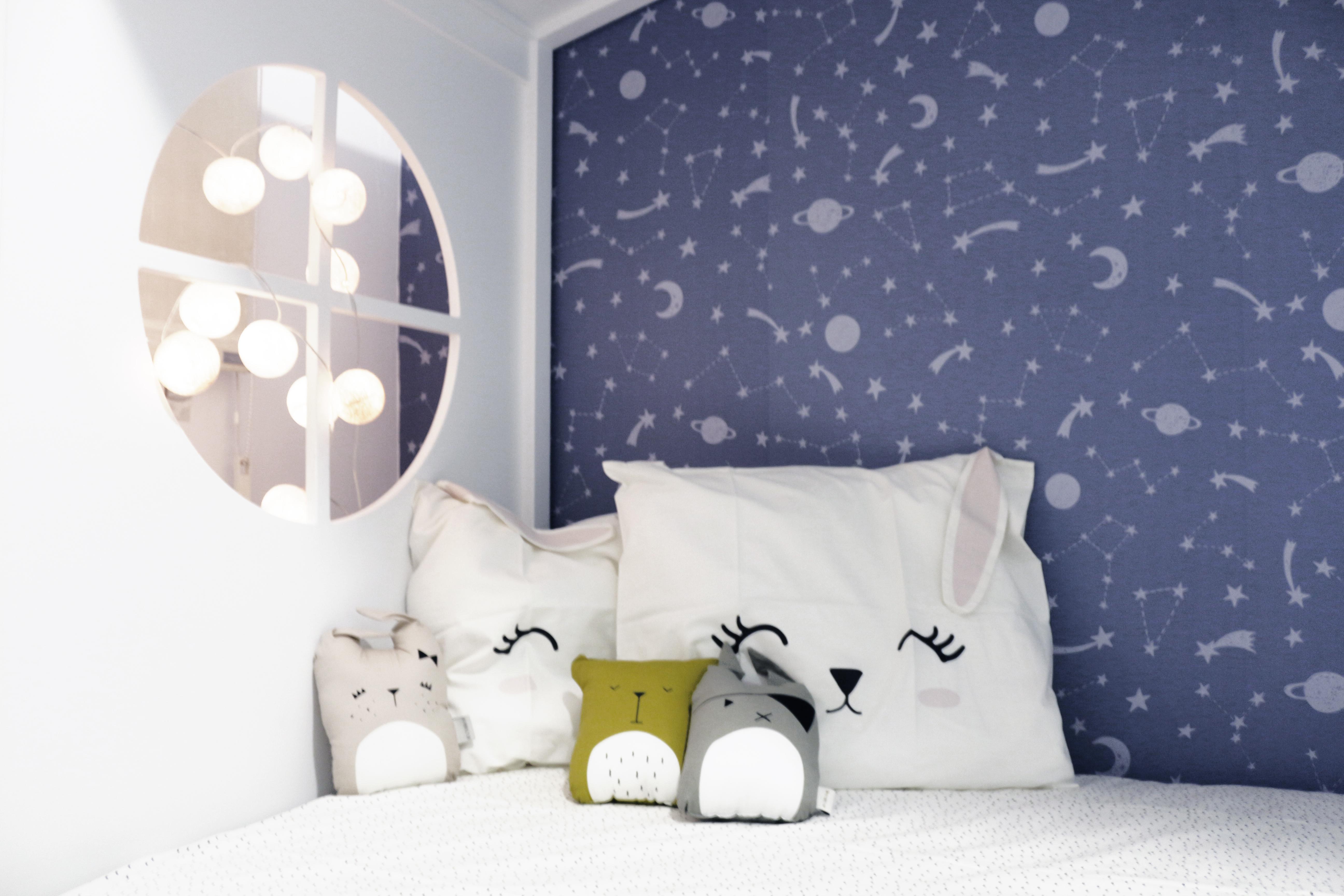 Diseño de dormitorio para mellizos